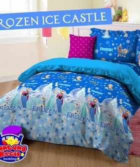 sprei Frozen ice castle
