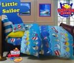 Sprei Little Sailor| Sprei Motif anak dengan warna ceria