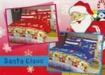 Sprei Santa Clause | Grosir Sprei bermotif untuk anak