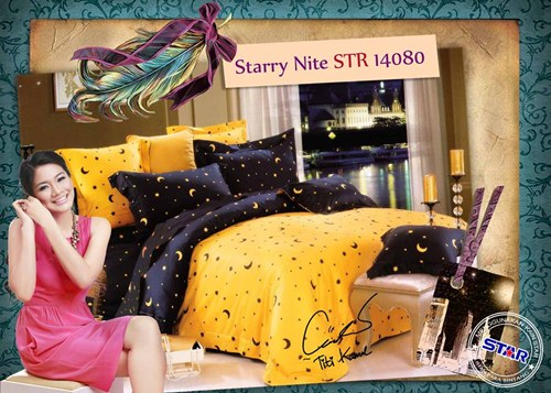 sprei remaja stary night