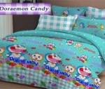 Sprei Doraemon Candy | Motif lucu dengan warna biru cerah | jual sprei online