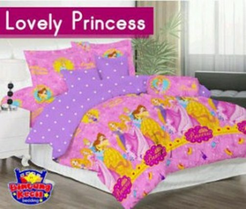 Star Lovely Princess sprei katun CVC
