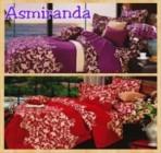 Sprei Star Asmiranda dengan Pilihan 2 warna  yang cantik dan Anggun