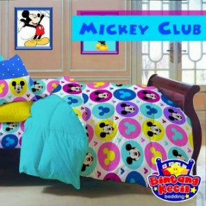 Sprei Star Mickey Mouse Club | Jual Grosir bed cover | Toko On Line Lumizshop