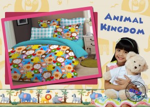 Sprei Animal Kingdom | sprei anak