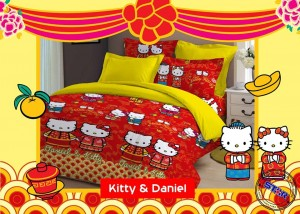Ragam Sprei Hello Kitty