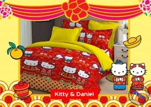Ragam Sprei Hello Kitty