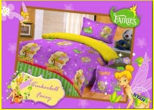 jual Sprei Katun cvc Tinkerbell Fairy