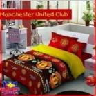 Jual Sprei Murah motif bola kebanggaan dari Sprei Star Manchester United Club