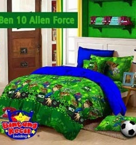 Grosir sprei Star ben-10 alien force