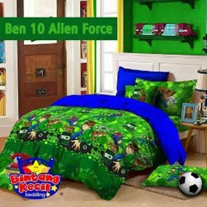 Grosir sprei Star ben-10 alien force