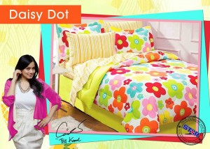 Jual Sprei daisy dot on Line