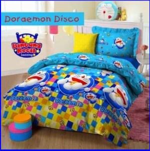 Jual Sprei katun Doraemon Disco