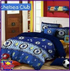 Motif Sprei Star Chelsea Club