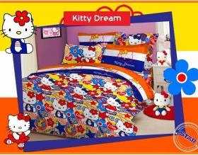 Sprei Hello Kitty Dream