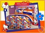 Jual Sprei Hello Kitty Dream dengan harga murah namun kualitas prima