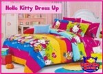 Sprei Star Cipadu Hello Kitty Dress Up harga murah bahan berkualitas