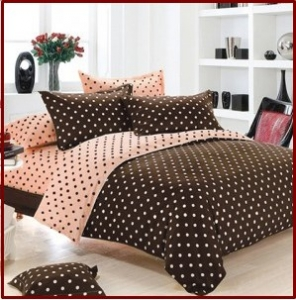 Sprei Star Collection Dottie Capucino Sun Flower
