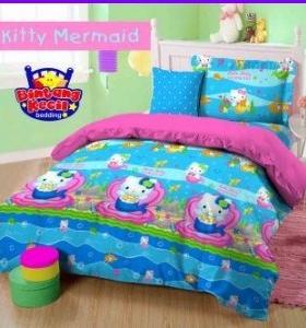 Sprei Star Collection Hello Kitty Mermaid