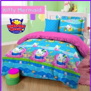 Sprei Star Collection Hello Kitty Mermaid