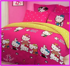 Sprei Star Collection Hello Kitty Milk