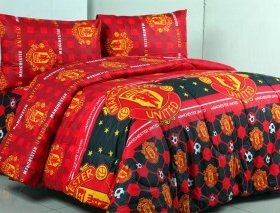 Sprei Star Collection Klub Bola New MU