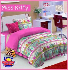 Sprei Star Collection Miss Hello Kitty