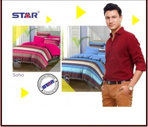 Sprei Star Collection Soho