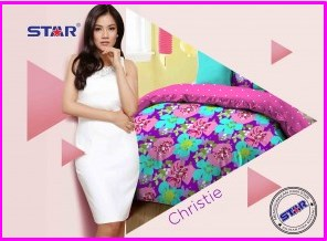 Grosir Sprei Star Christie