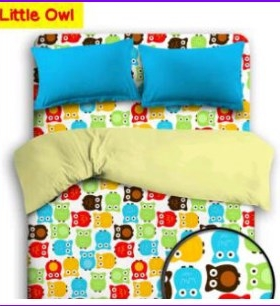 Grosir Sprei Star Little Owl