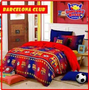Motif Sprei Star Barcelona Club