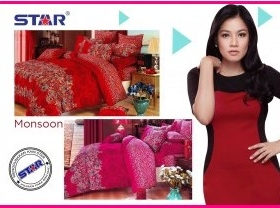 Motif Sprei Star Monsoon