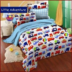 Motif Sprei Star terbaru Little Advennture