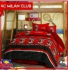 Sprei Star Cipadu  dengan logo bola sepak club Ac Milan