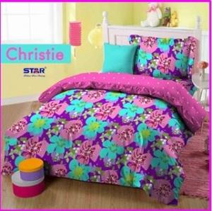 Sprei Star Cipadu motif Christie-1