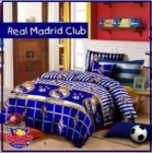 Sprei Motif bola dari Star Collection menampilkan Sprei Klub kebanggaan Real Madrid