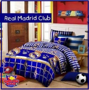 Sprei Star Terbaru Real Madrid Club