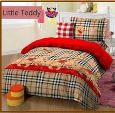 Distributor Sprei Karakter Murah Little Teddy-1