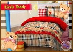 Distributor Sprei Karakter Murah Little Teddy