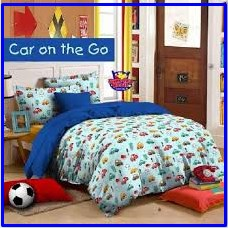 Grosir Sprei Motif Anak Murah Car on The go