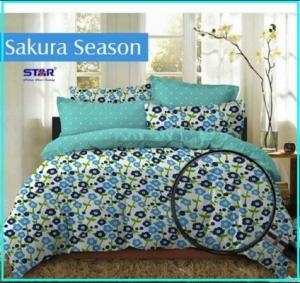 Motif Sprei Star Sakura Season-1