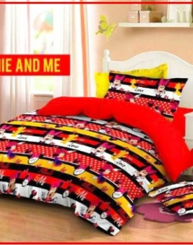 Sprei Mickey Mouse Minnie And Me
