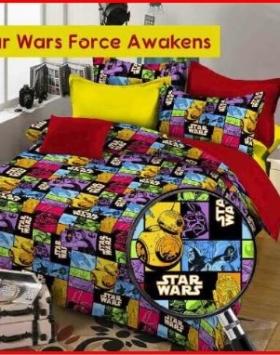 Grosir Dan Eceran Sprei Murah Star Wars Forces Awakenes