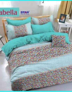 Grosir Sprei Dan Bed Cover Star Isabella Harga Murah