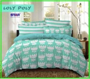 rosir Sprei Dan Bed Cover Star Loly Poly Paling Murah