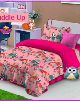 Grosir Sprei Star Cuddle Up-1 Bahan Katun Murah