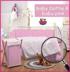 Grosir dan Eceran Sprei Star Murah Babby Dottie R Baby Pink