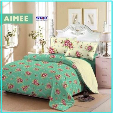 Sprei Star Aimee Berikut Bed Cover Cantik