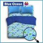 Sprei Star Berikut Bed Cover Motif Laut | 0812.8951.4505
