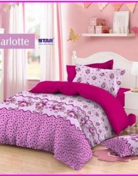 Sprei Star Charlotte Terbaru dari Pusat Textile Cipadu